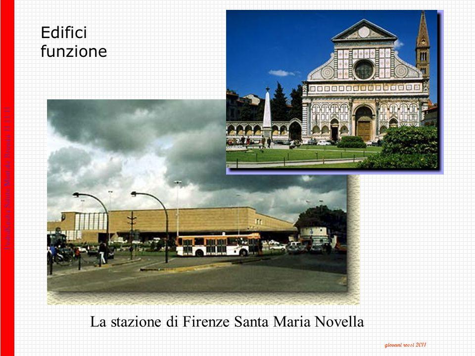 Edifici funzione La stazione di Firenze Santa Maria Novella PechaKucha Salute Mentale Brescia 11.11.11 giovani rossi 2011