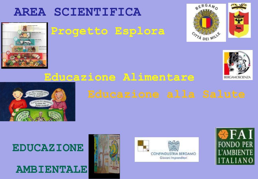 AREA SCIENTIFICA Educazione Alimentare Educazione alla Salute EDUCAZIONE AMBIENTALE Progetto Esplora