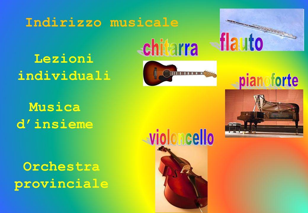 Lezioni individuali Musica dinsieme Orchestra provinciale Indirizzo musicale