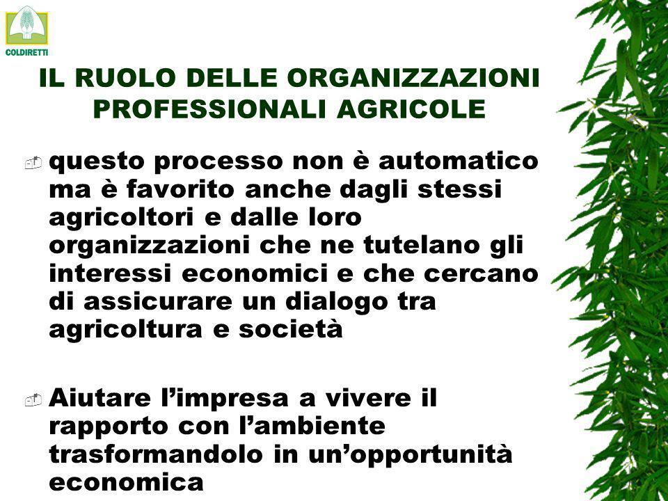 MODELLO AGRICOLO EUROPEO tale funzione è stata riconosciuta allagricoltura solo da alcuni anni anche grazie alla PAC Integrazione tra attività produttiva, ambiente e gestione del territorio