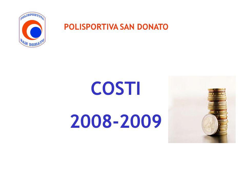 POLISPORTIVA SAN DONATO COSTI 2008-2009