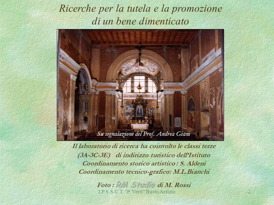 I.P.S.S.C.T. P. Verri Busto Arsizio23 Madonna in trono col Bambino, S.