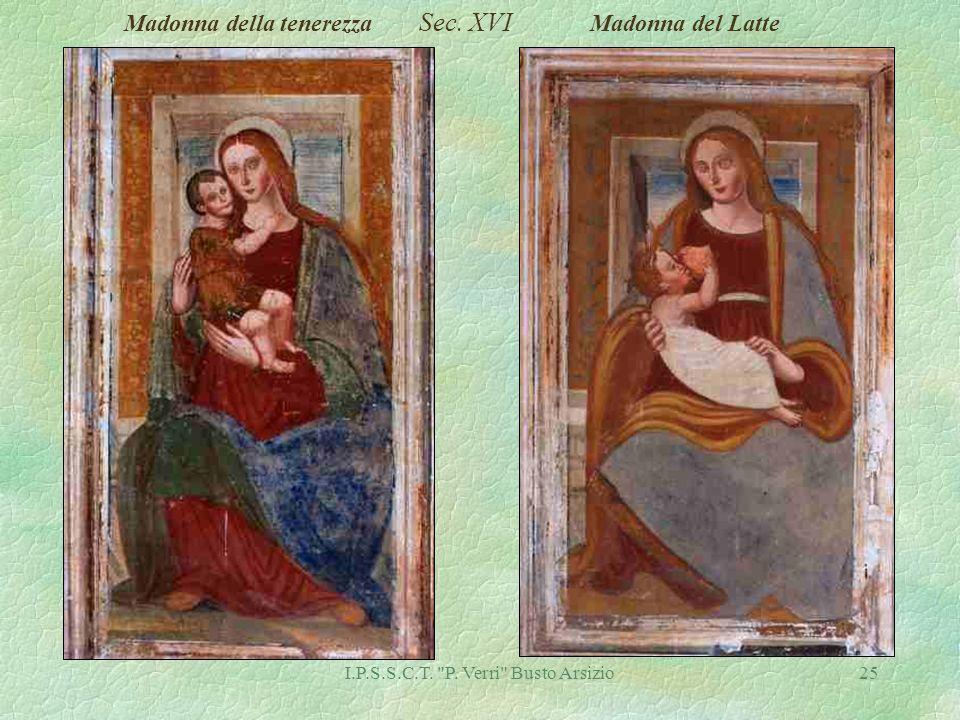 I.P.S.S.C.T. P. Verri Busto Arsizio25 Madonna della tenerezza Sec. XVI Madonna del Latte