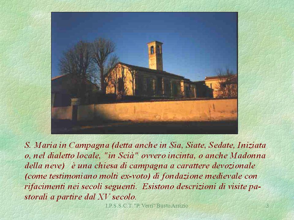 I.P.S.S.C.T. P. Verri Busto Arsizio24 S.Carlo Borromeo e due martiri Sec. XVI S. Agata Sec.XVI