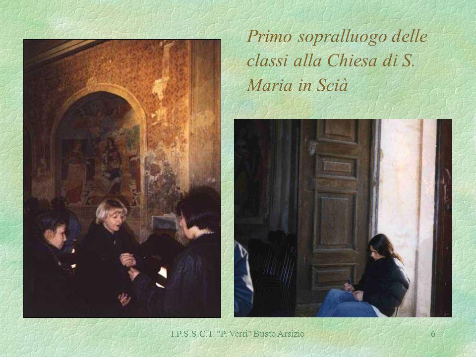 6 Primo sopralluogo delle classi alla Chiesa di S. Maria in Scià