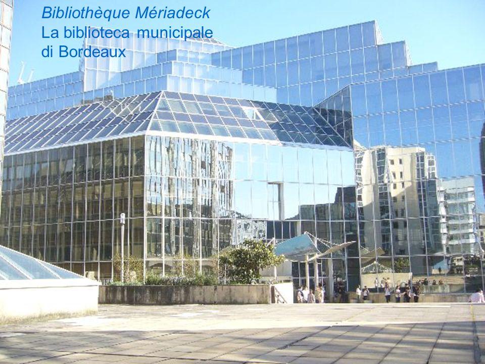 Bibliothèque Mériadeck La biblioteca municipale di Bordeaux