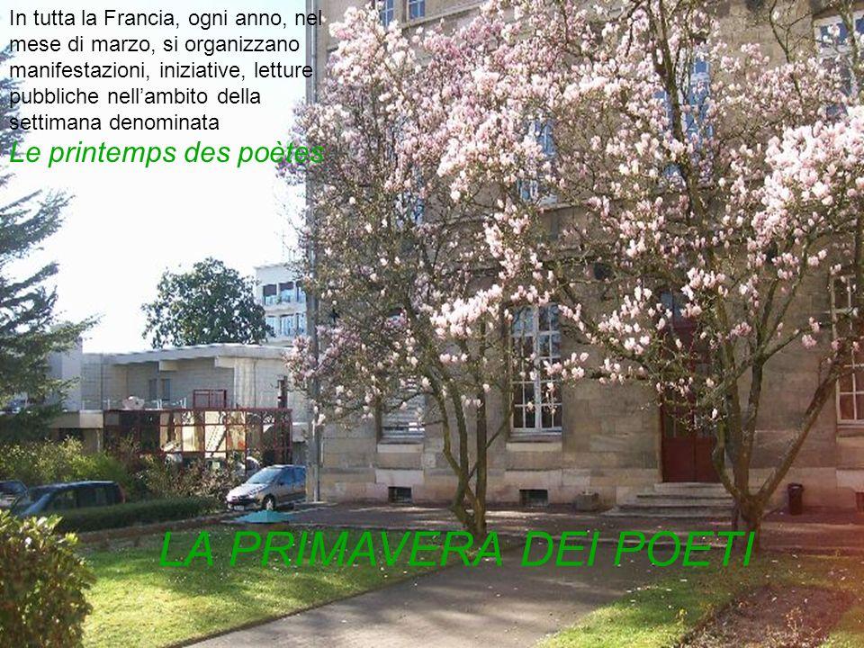 In tutta la Francia, ogni anno, nel mese di marzo, si organizzano manifestazioni, iniziative, letture pubbliche nellambito della settimana denominata