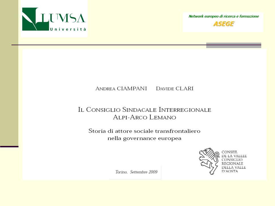 Seconda considerazione sul rapporto attori sociali e integrazione europea: con la governance promossa dallEuropa sociale si evidenzia una possibile ricomposizione della frattura storica tra rivoluzione politica e rivoluzione industriale allorigine della società contemporanea
