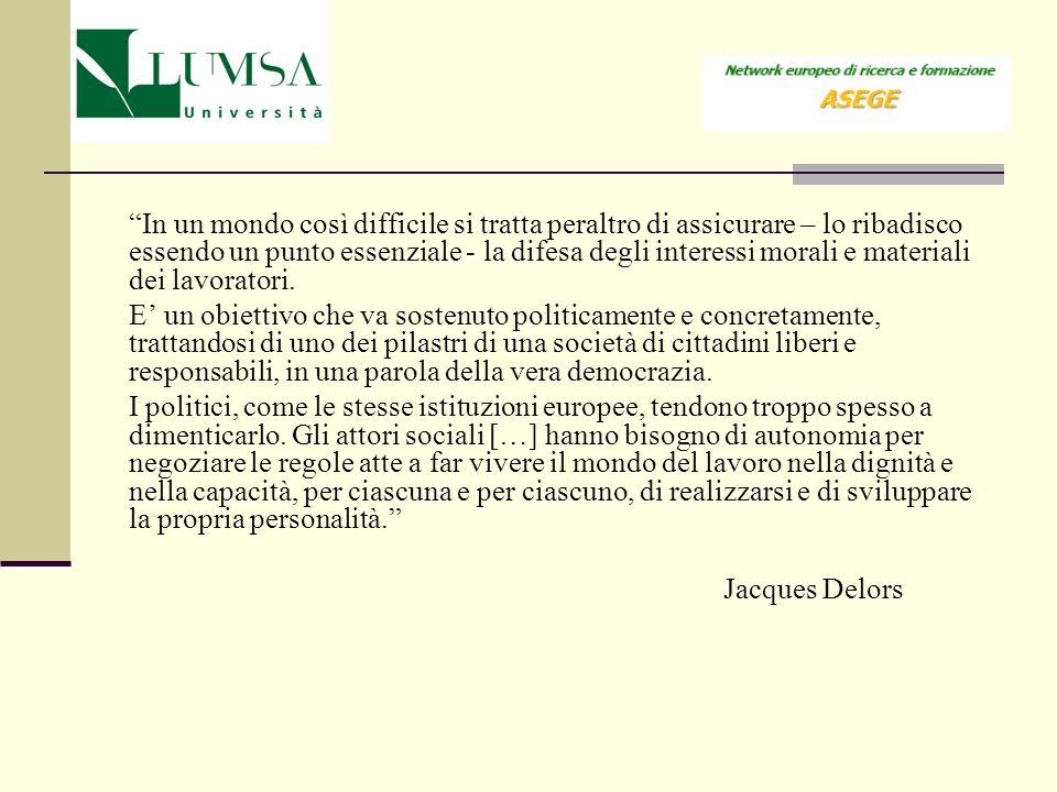 Presentazione 1.Alcuni presupposti storici dellesperienza di governance europea 2.