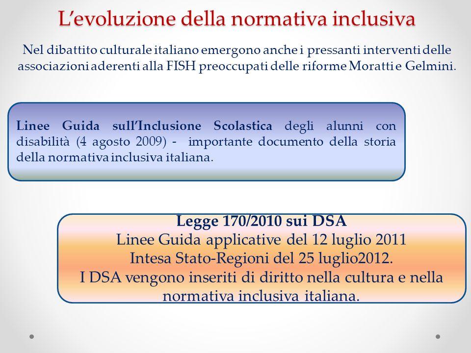 Nel dibattito culturale italiano emergono anche i pressanti interventi delle associazioni aderenti alla FISH preoccupati delle riforme Moratti e Gelmi