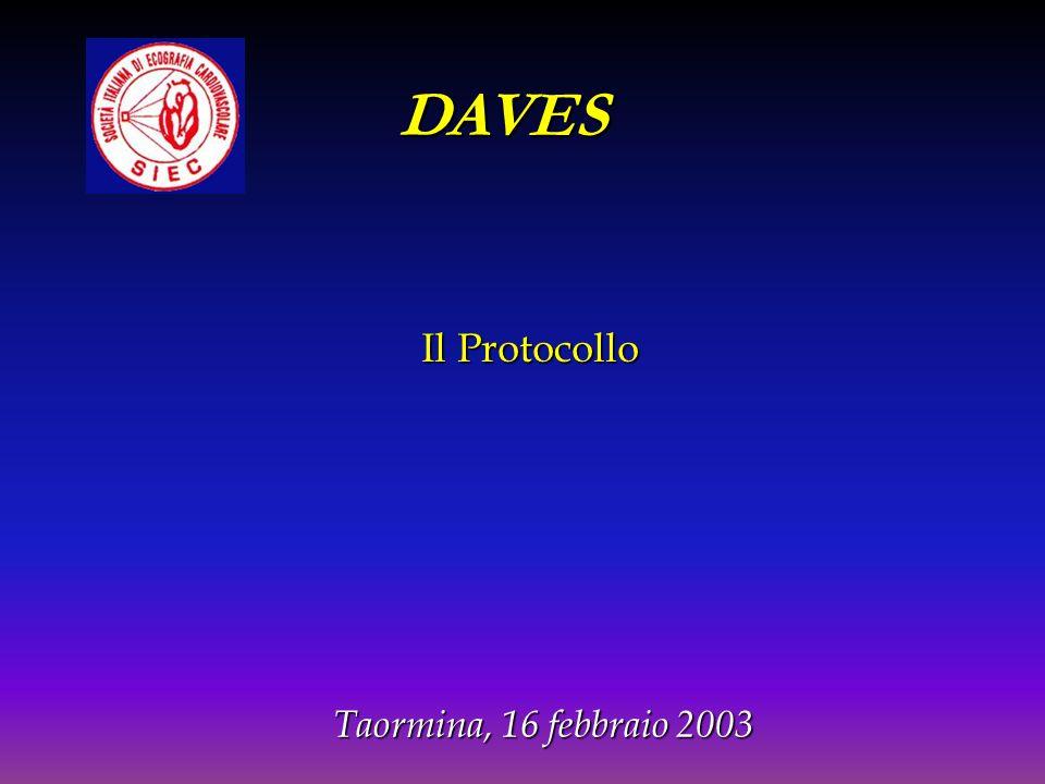 Il Protocollo DAVES Taormina, 16 febbraio 2003