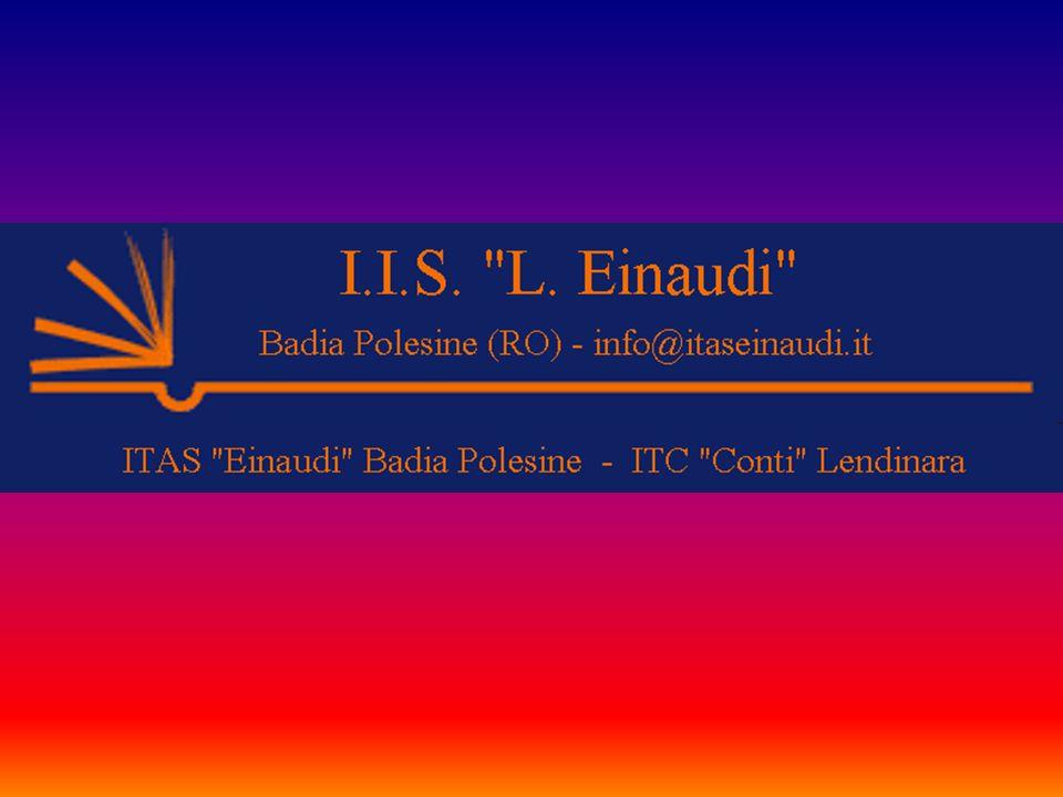 CORSI DI STUDIO: BIOTECNOLOGIE AMBIENTALI BIOTECNOLOGIE SANITARIE AMMINISTRAZIONE FINANZA E MARKETING (ex IGEA) SISTEMI INFORMATIVI AZIENDALI (ex MERCURIO) BADIA POLESINE - Via San Nicolò, 31 tel.