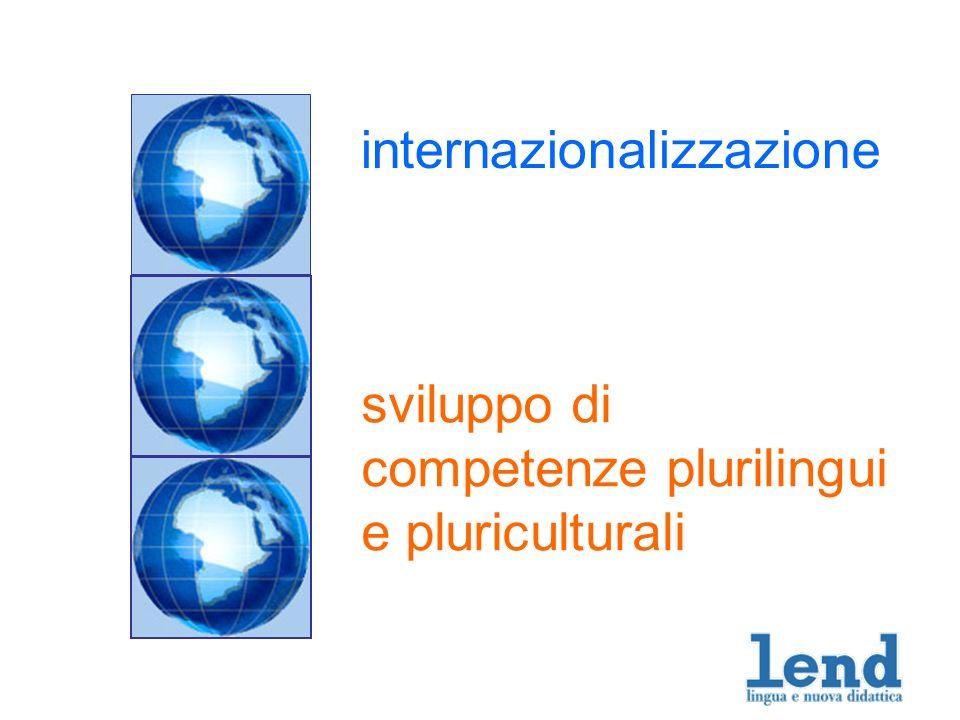 internazionalizzazione sviluppo di competenze plurilingui e pluriculturali
