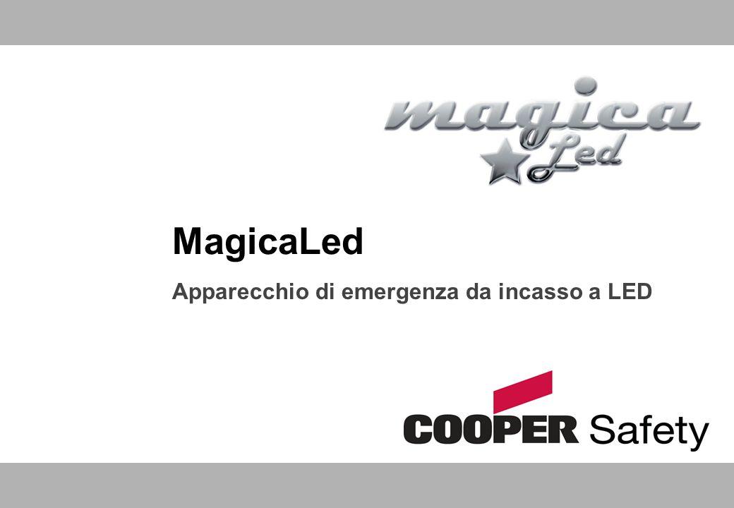 MagicaLed Apparecchio di emergenza da incasso a LED