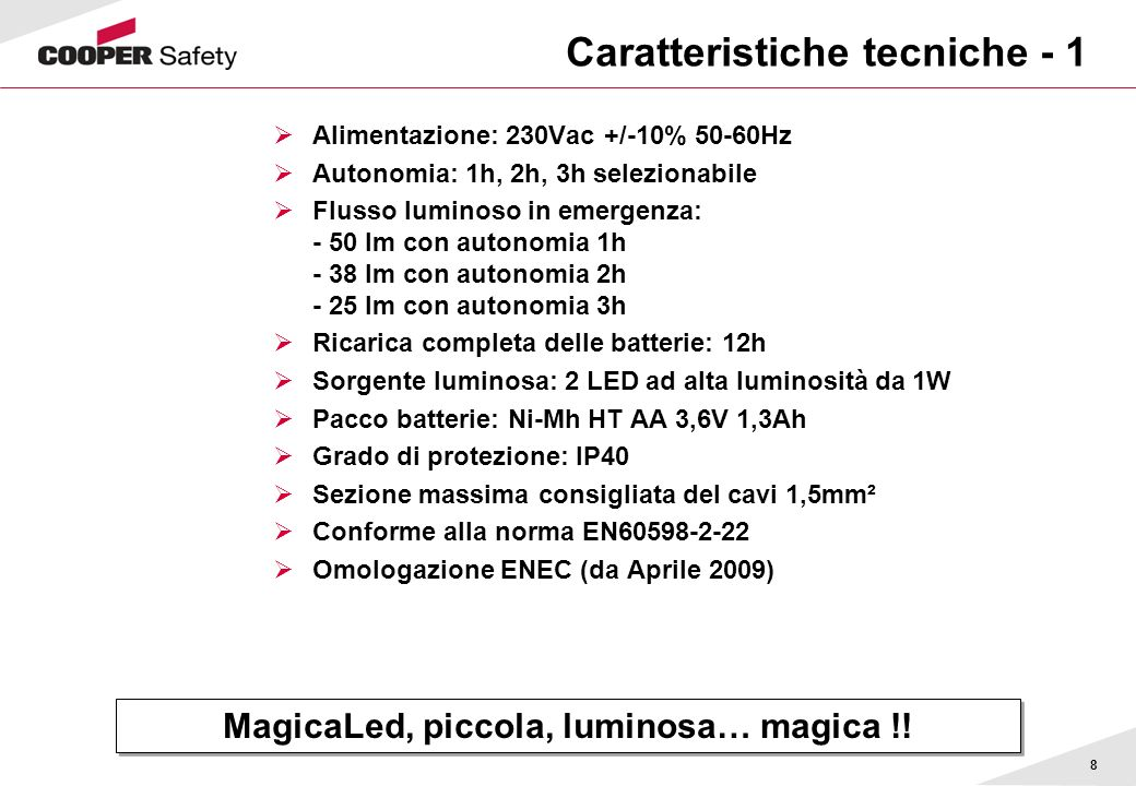 19 Imballo MagicaLed, piccola, luminosa… magica !.
