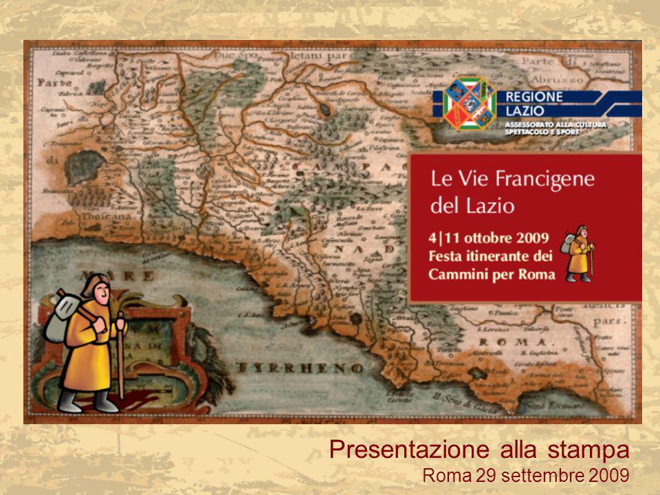 Presentazione alla stampa Roma 29 settembre 2009