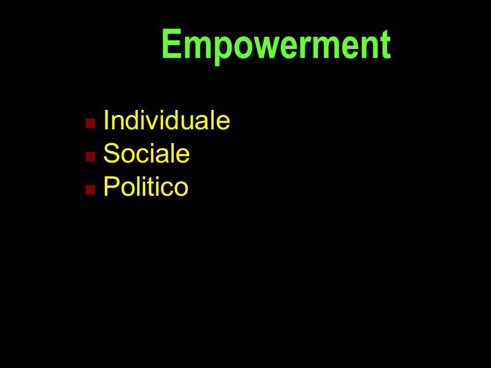 Individuale Sociale Politico