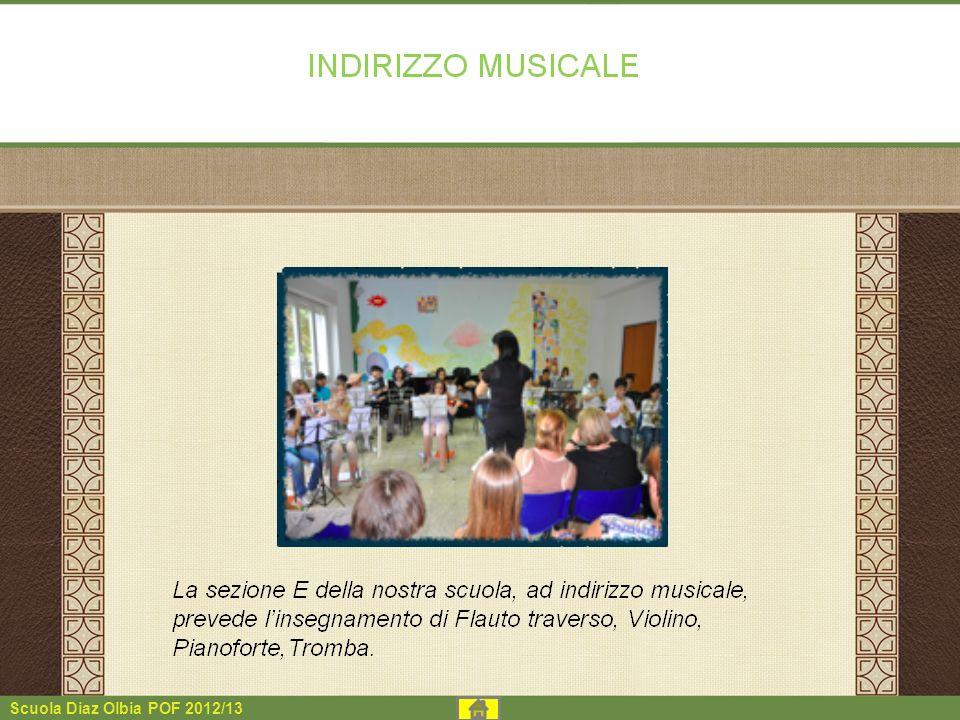 Scuola Diaz Olbia POF 2012/13