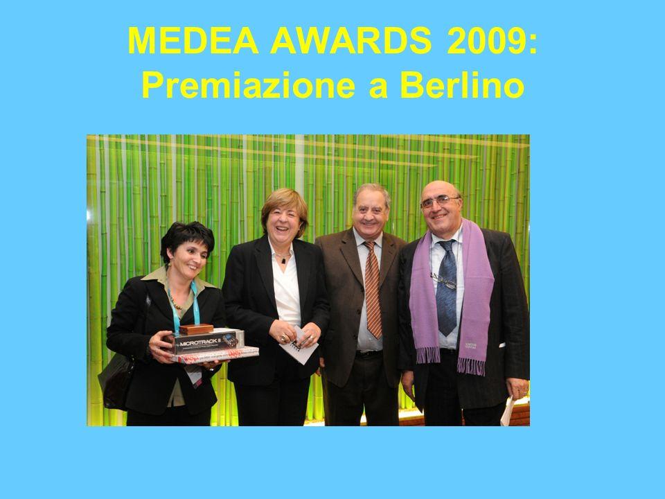 MEDEA AWARDS 2009: Premiazione a Berlino