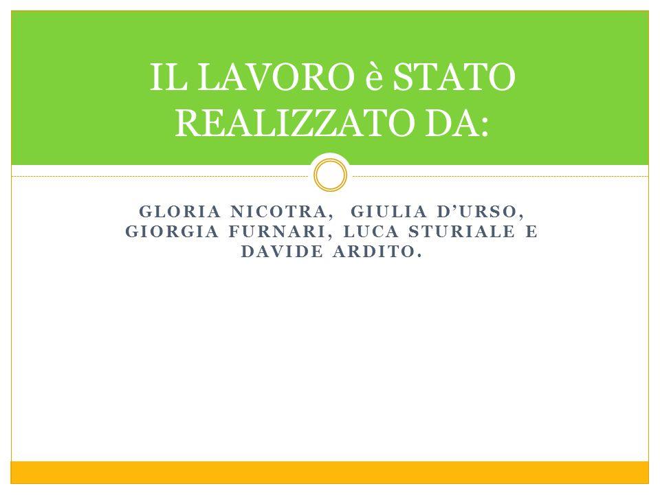 GLORIA NICOTRA, GIULIA DURSO, GIORGIA FURNARI, LUCA STURIALE E DAVIDE ARDITO.