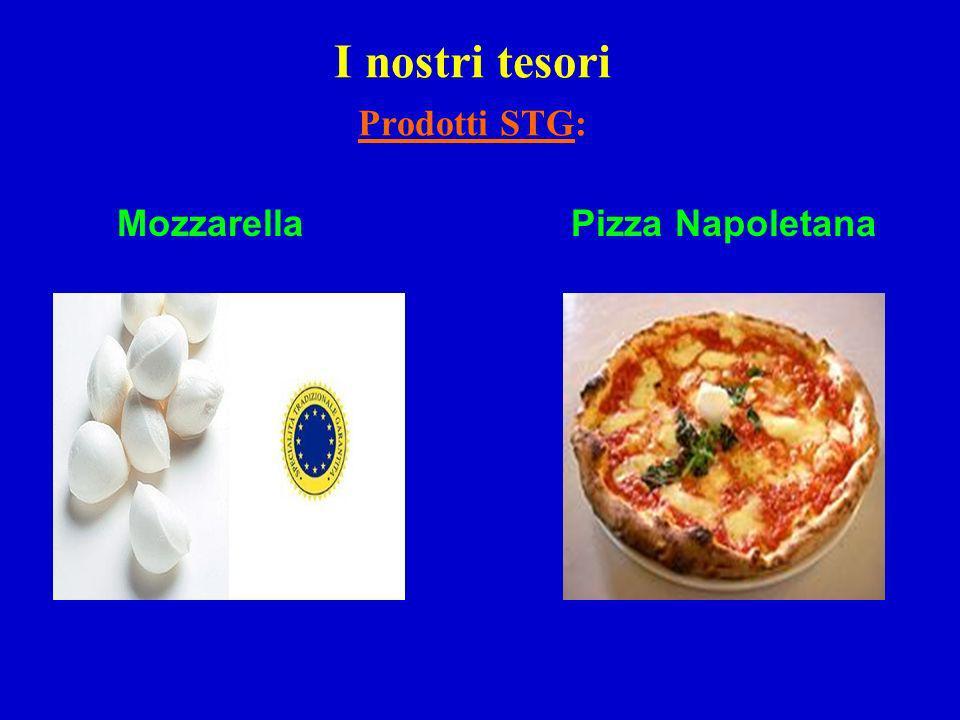 I nostri tesori Prodotti STG: MozzarellaPizza Napoletana