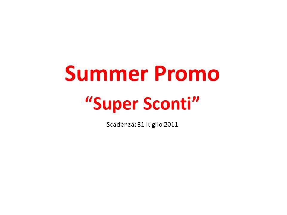 Super Sconto Full Optional Extra: Unarma in piu per vendere lADSL Super Flat .