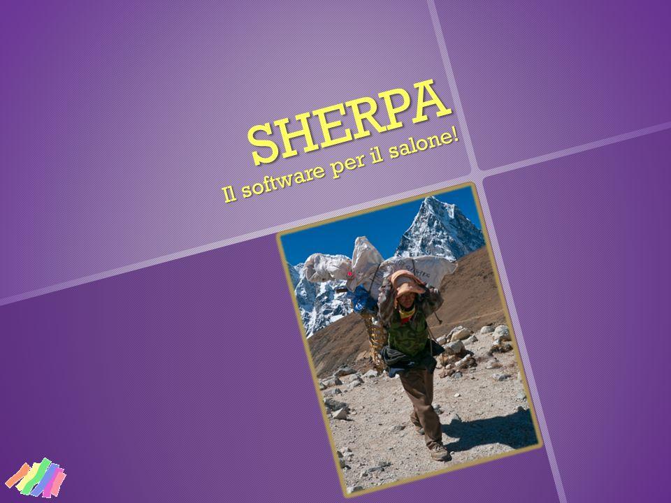 Perché lo abbiamo chiamato «Sherpa».Gli Sherpa sono portatori nepalesi.
