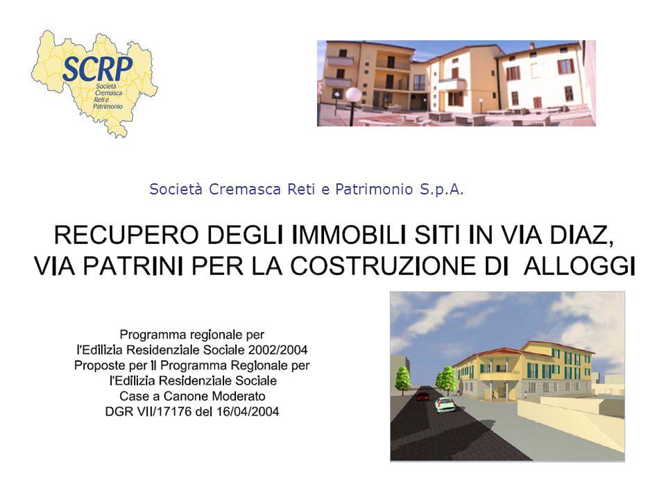 2 Indice Premesse Descrizione delle Unità Inquadramento Via Patrini Inquadramento Via Diaz