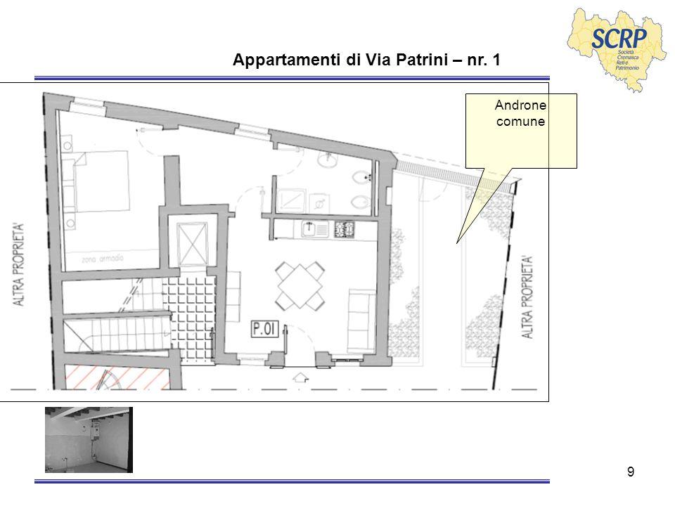 10 Appartamenti di Via Patrini – nr. 2