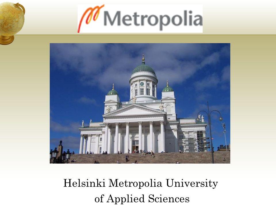 Helsinki Metropolia University of Applied Sciences