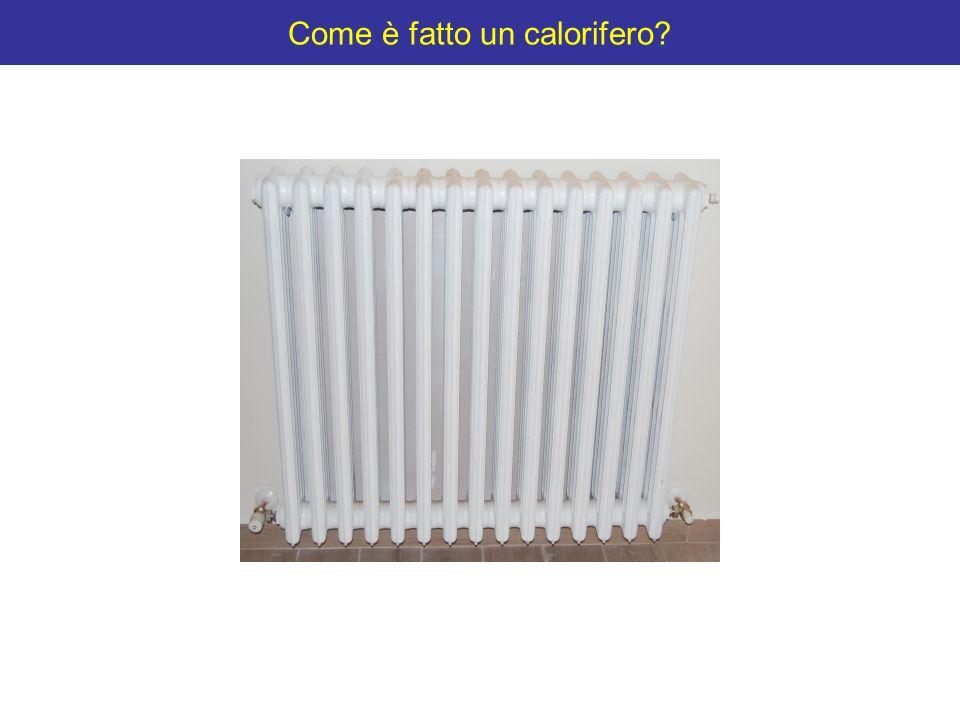Come è fatto un calorifero?
