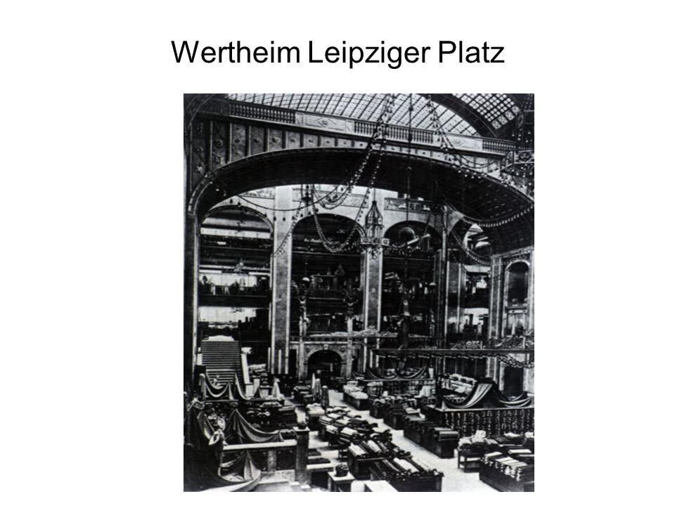 Wertheim Leipziger Platz