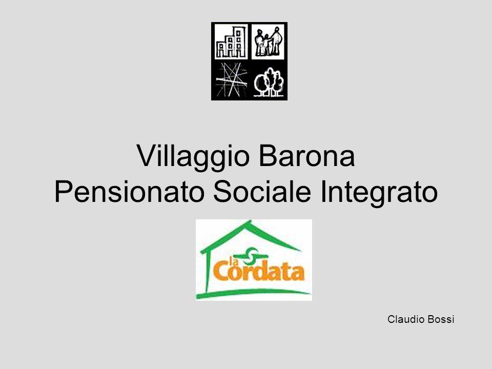 Villaggio Barona Pensionato Sociale Integrato Claudio Bossi