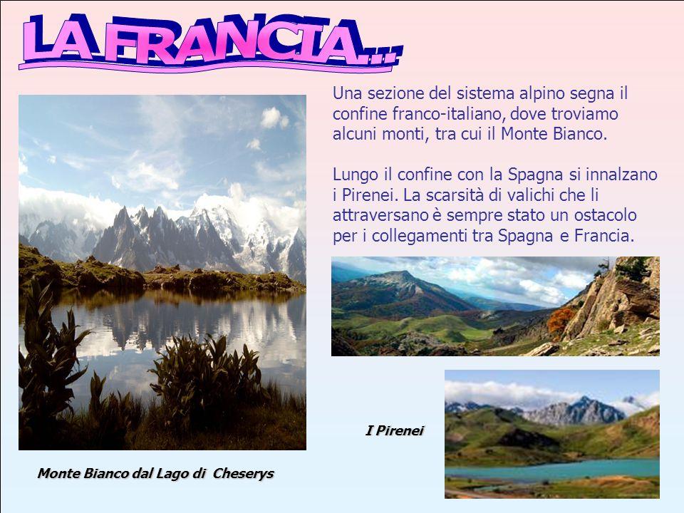 Nella sezione nord occidentale del paese le valli dei fiumi Senna e Loira attraversano una regione pianeggiante, chiamata Bacino Parigino.