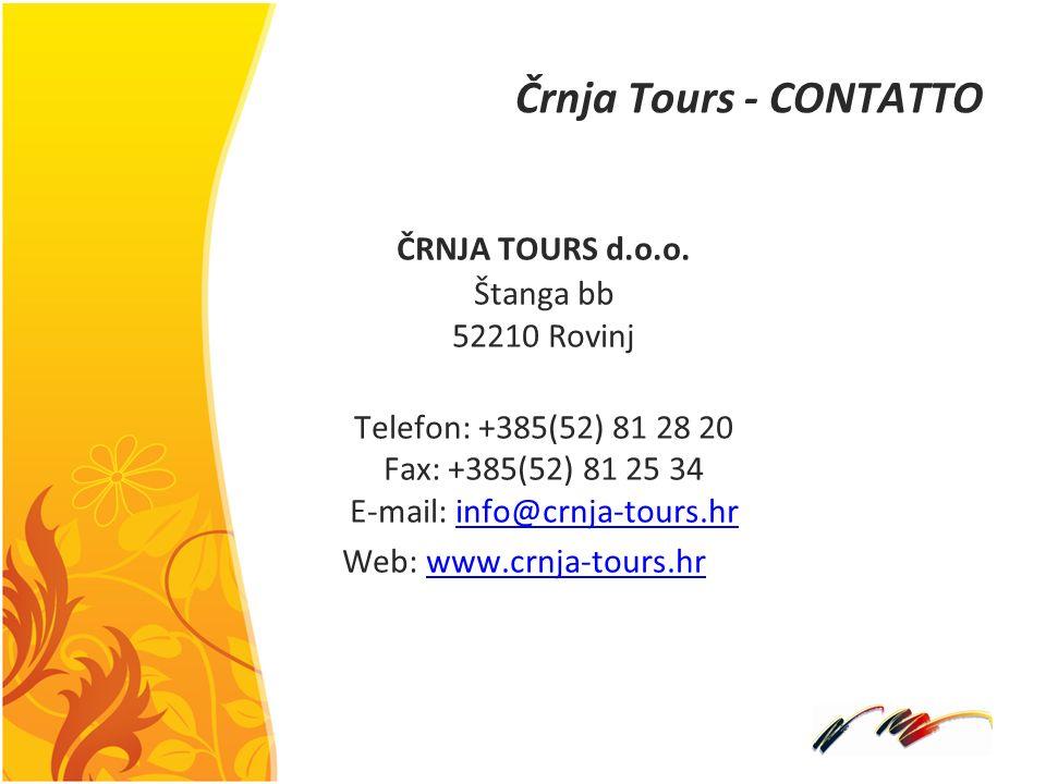 Črnja Tours - CONTATTO ČRNJA TOURS d.o.o.