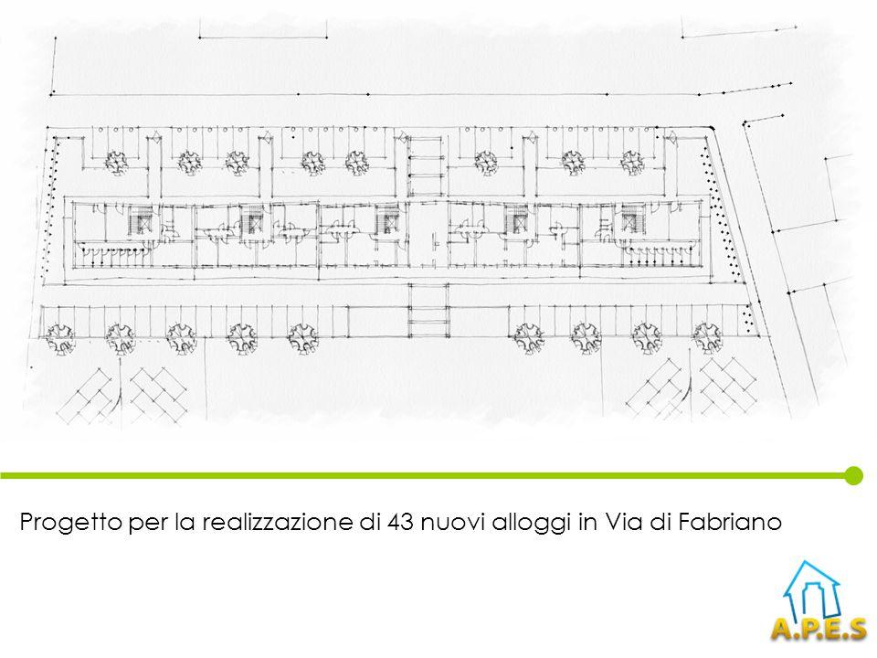 Progetto per la realizzazione di 43 nuovi alloggi in Via di Fabriano
