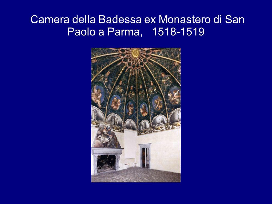 Camera della Badessa ex Monastero di San Paolo a Parma, 1518-1519