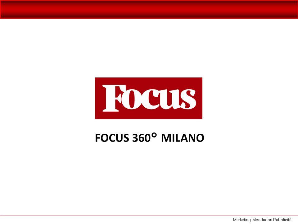 SPECIALE FOCUS 360° MILANO Focus ad aprile lancia un nuovo progetto FOCUS 360° MILANO in collaborazione con il Corriere della Sera, uno speciale editoriale brossurato che racconta la città di Milano dal punto di vista della cultura, delleconomia, della storia e della società.