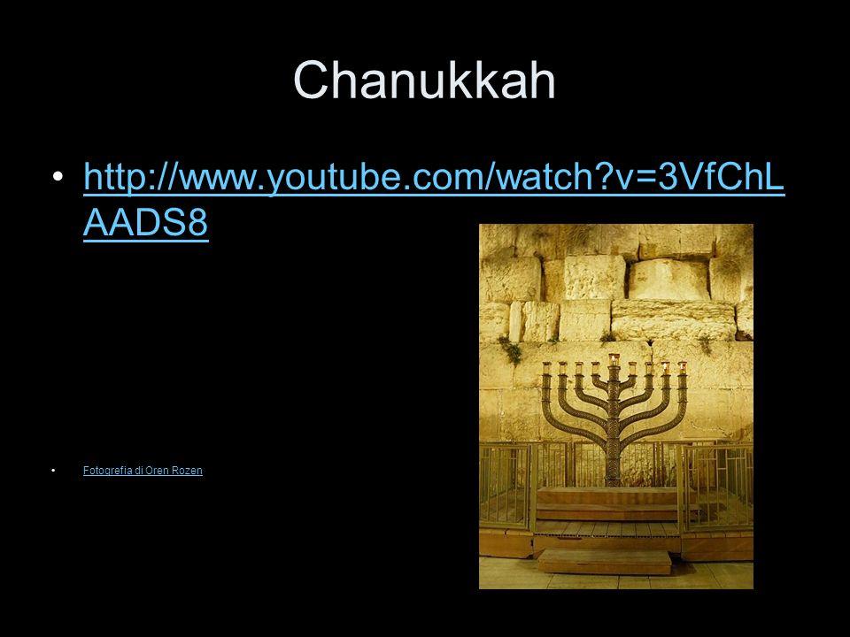 Chanukkah http://www.youtube.com/watch?v=3VfChL AADS8http://www.youtube.com/watch?v=3VfChL AADS8 Fotogrefia di Oren Rozen