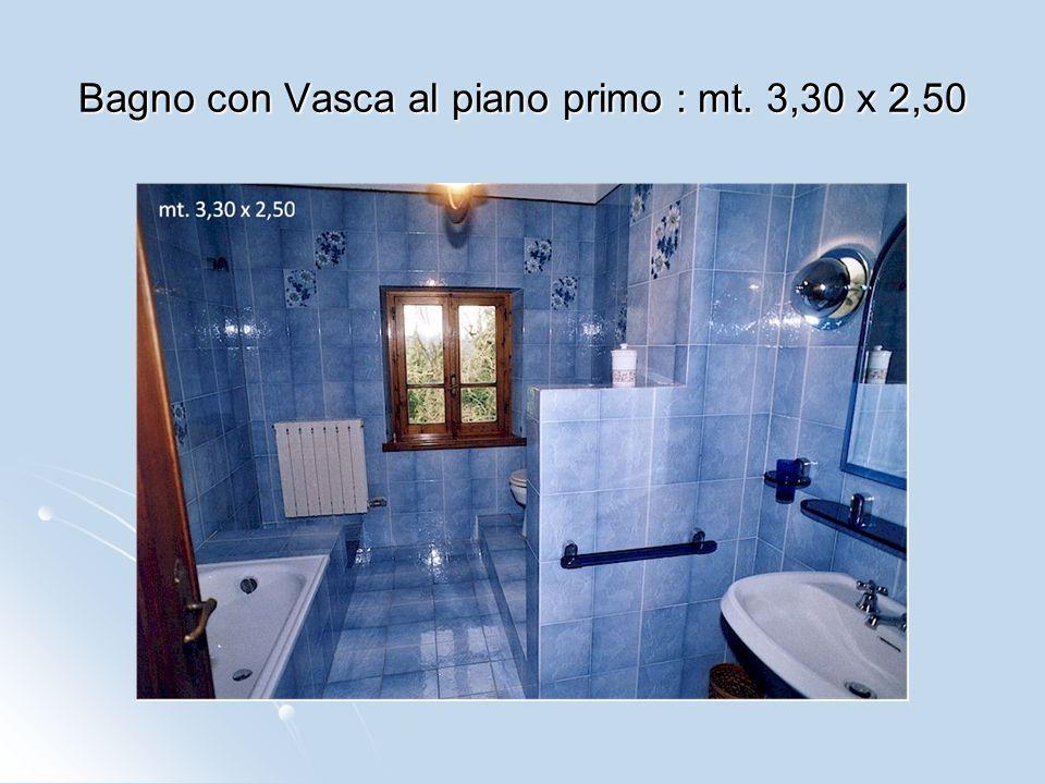 Stanza lavanderia 1° piano : mt. 3,50 x 1,50