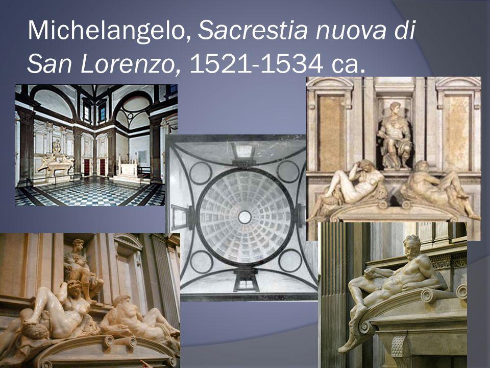 Michelangelo, Sacrestia nuova di San Lorenzo, 1521-1534 ca.