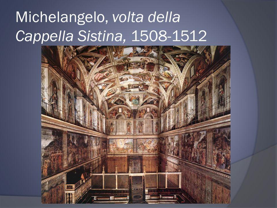 Michelangelo, volta della Cappella Sistina, 1508-1512