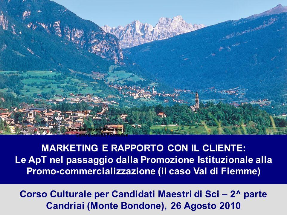 2 Trentino SpA Corso Culturale per Aspiranti Maestri di Sci – Candriai (Monte Bondone), 26 Agosto 2010 Bruno Felicetti N.