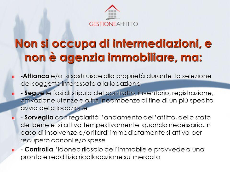 Un servizio innovativo per risolvere ogni problema legato alla locazione www.gestioneaffitto.it