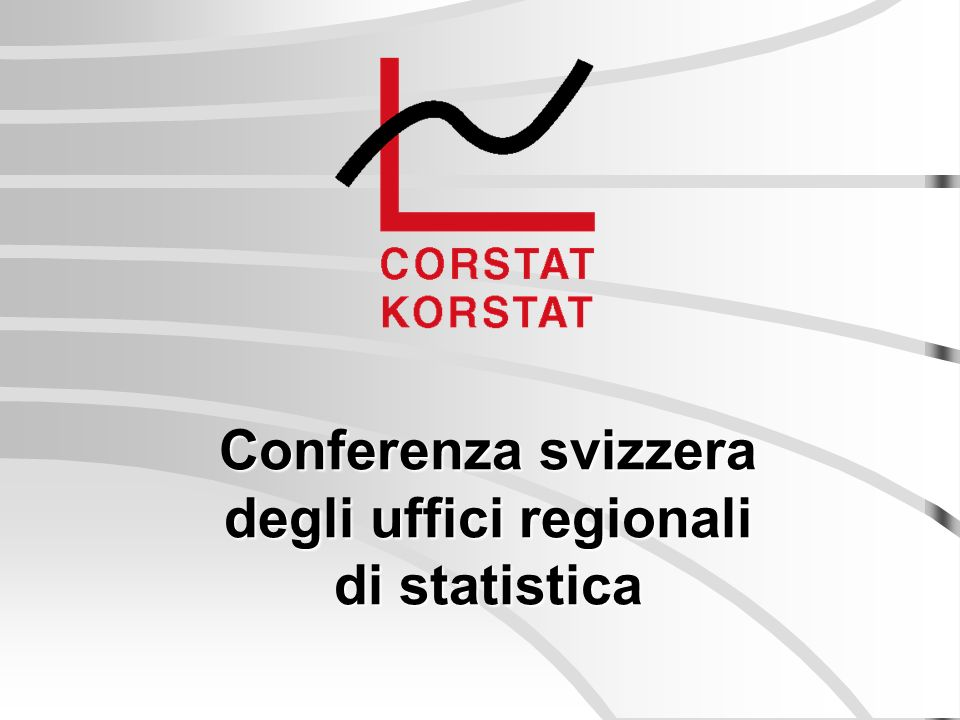 Conferenza svizzera degli uffici regionali di statistica
