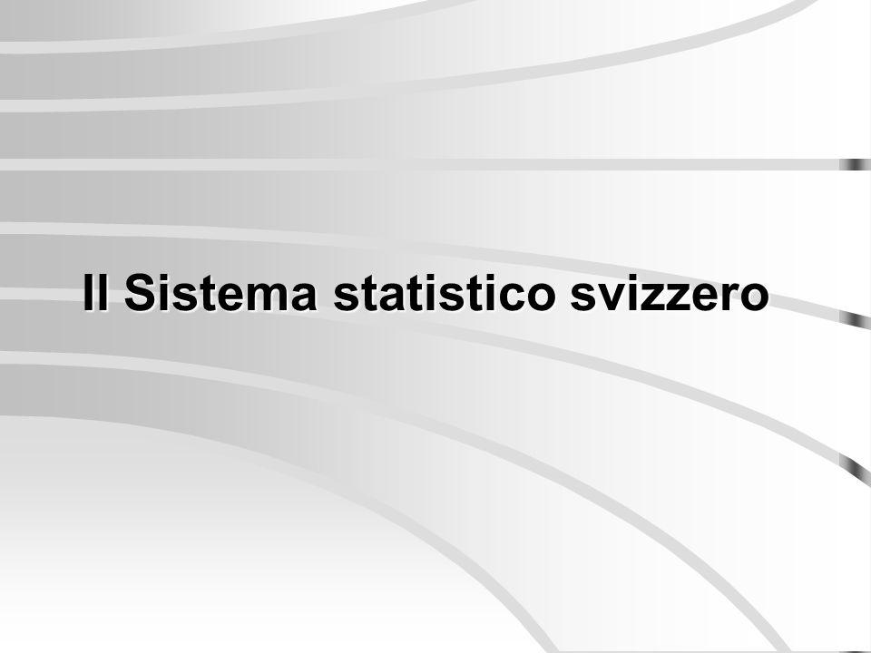GE NE FR BE JU LU TI GR VS UR AG TG SG AR AI SZ GL SH ZG SO BL BS ZH VD OW NW Il coordinamento della statistica svizzera UST CORSTAT REGIOSTAT