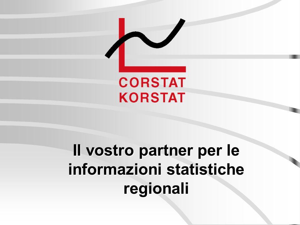 Il vostro partner per le informazioni statistiche regionali