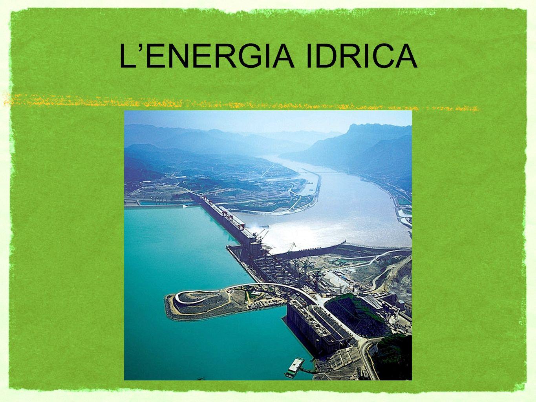 LENERGIA IDRICA