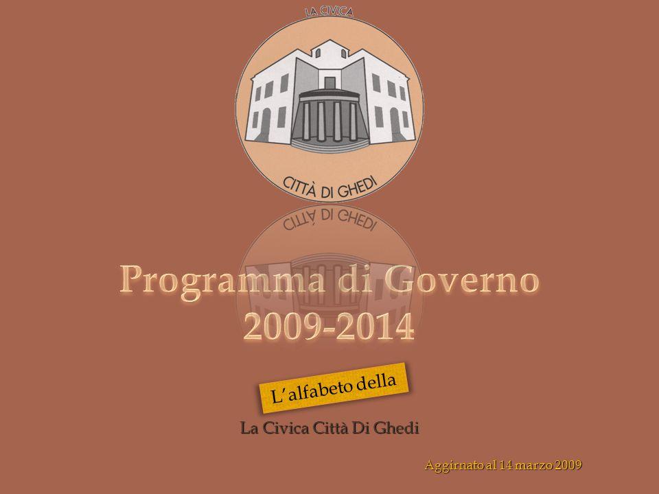 La Civica Città Di Ghedi Aggirnato al 14 marzo 2009 Lalfabeto della