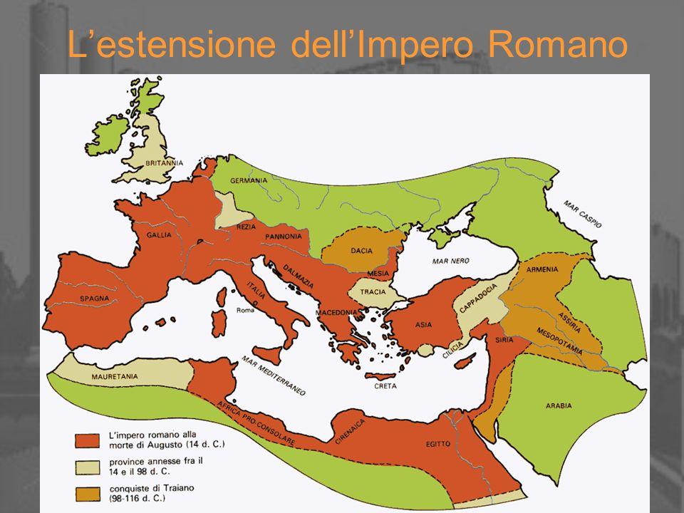 Lestensione dellImpero Romano